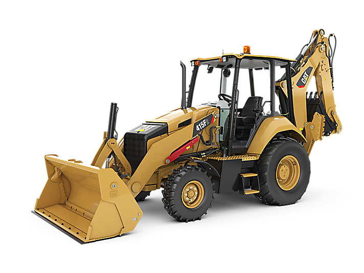 415f2 Backhoe Loader Center Pivot Cat Caterpillar
