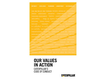 Caterpillar's Worldwide Code of Conduct