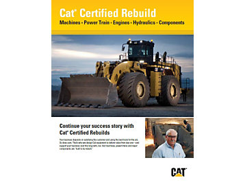 Cat | Cat® Certified Rebuild – Extending Your Success Story, Step by