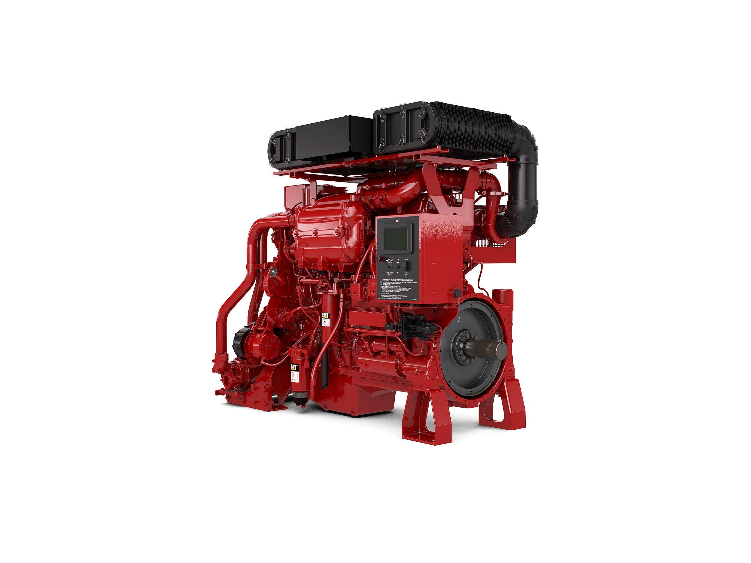 C18 Fire Pump Diesel Fire Pumps – Highly & Lesser Regulated