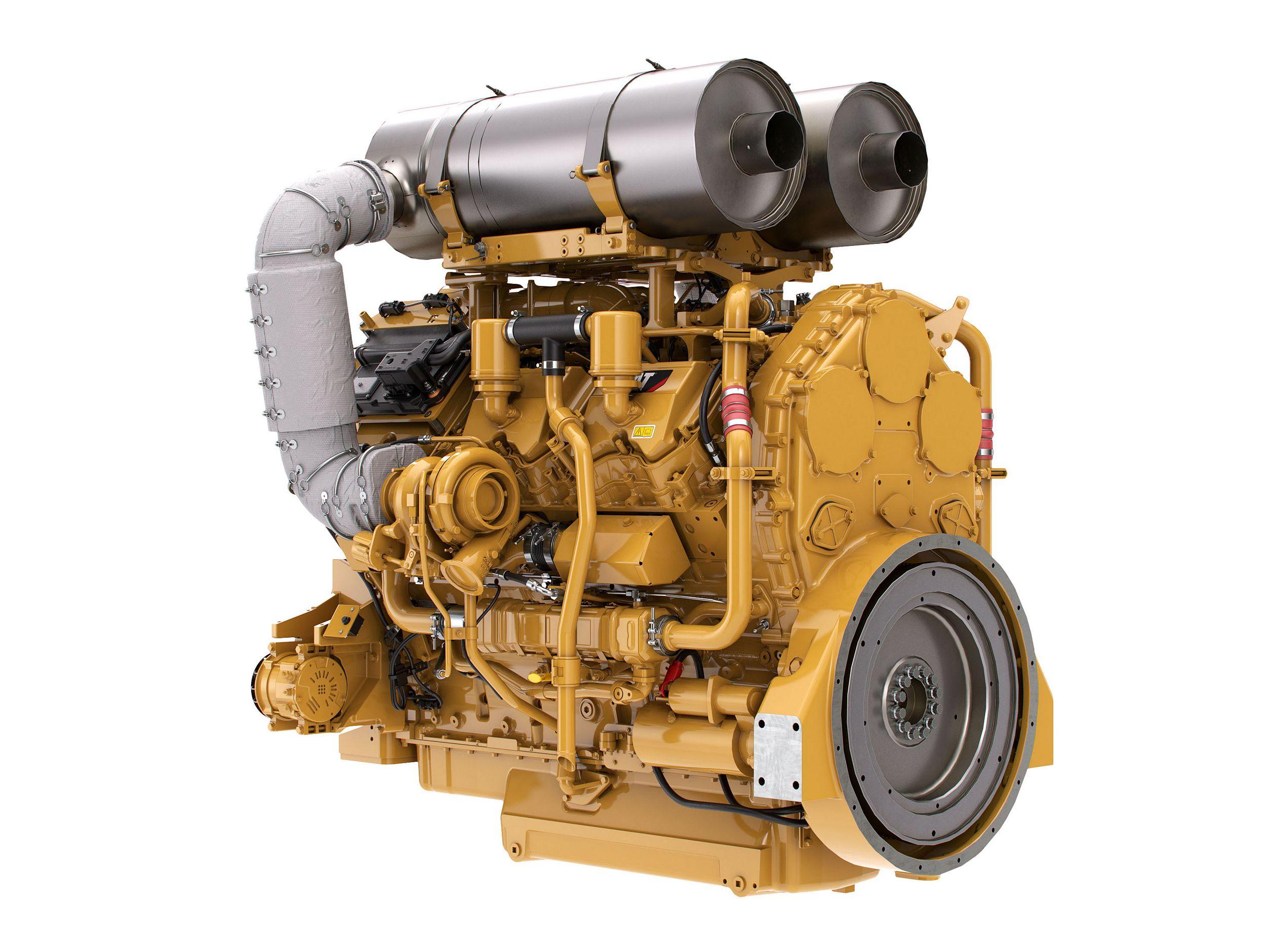 C27 Tier 4 Diesel Engines – Highly Regulated