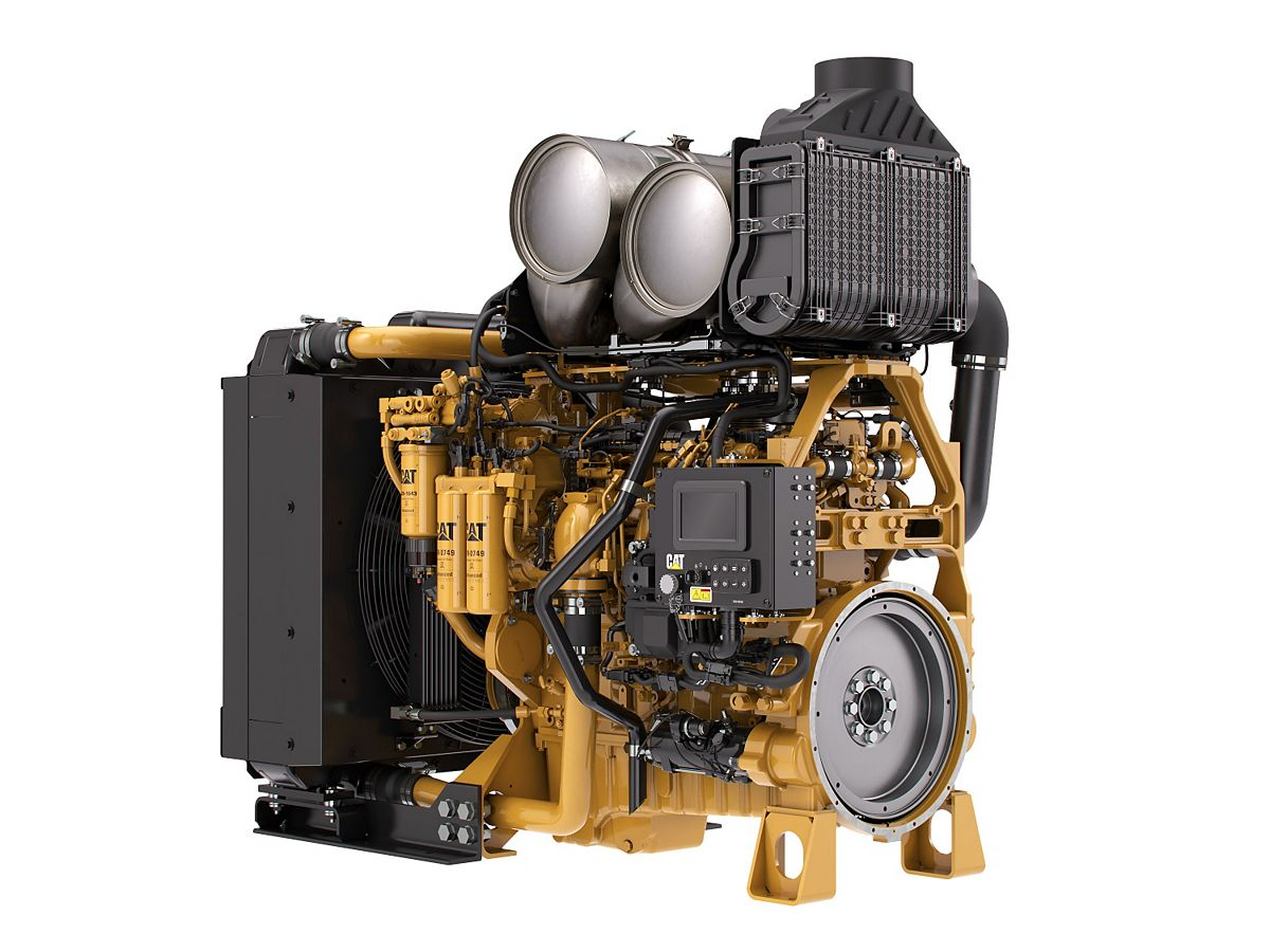 C9.3 ACERT Tier 4 Industrial Power Unit Diesel Power Units – Highly Regulated