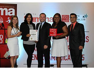 91351530e1c Caterpillar | Caterpillar Panama named a Great Place to Work