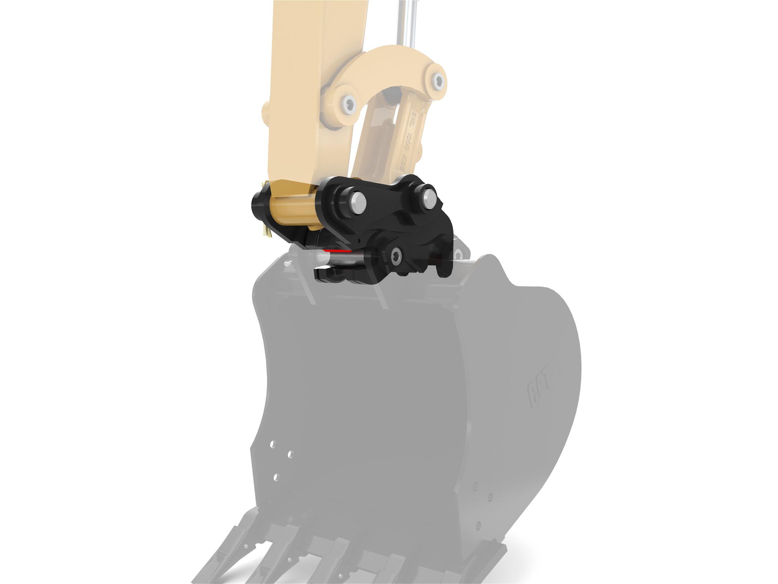 Hydraulic Dual Lock Coupler - 3 Ton