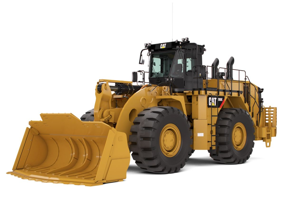 Large Wheel Loaders 990K Steel Mill Arrangement