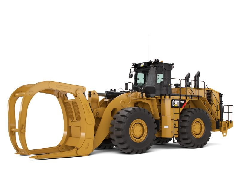990K Millyard Arrangement Large Wheel Loader