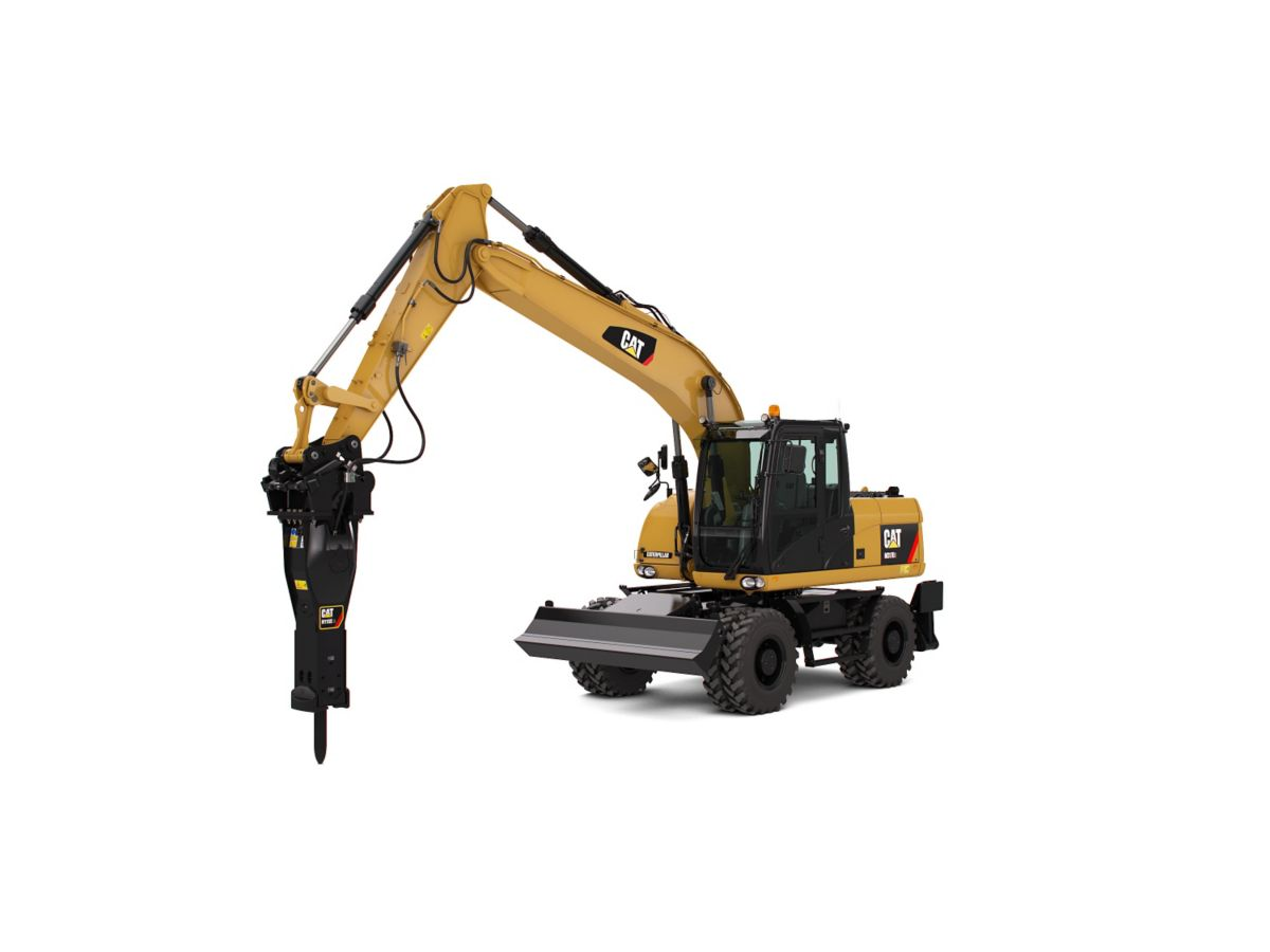 0% for 24 months on new Cat Wheel Hydraulic Excavators