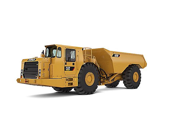 Cat Camión Para Minería Subterránea Ad30 Caterpillar