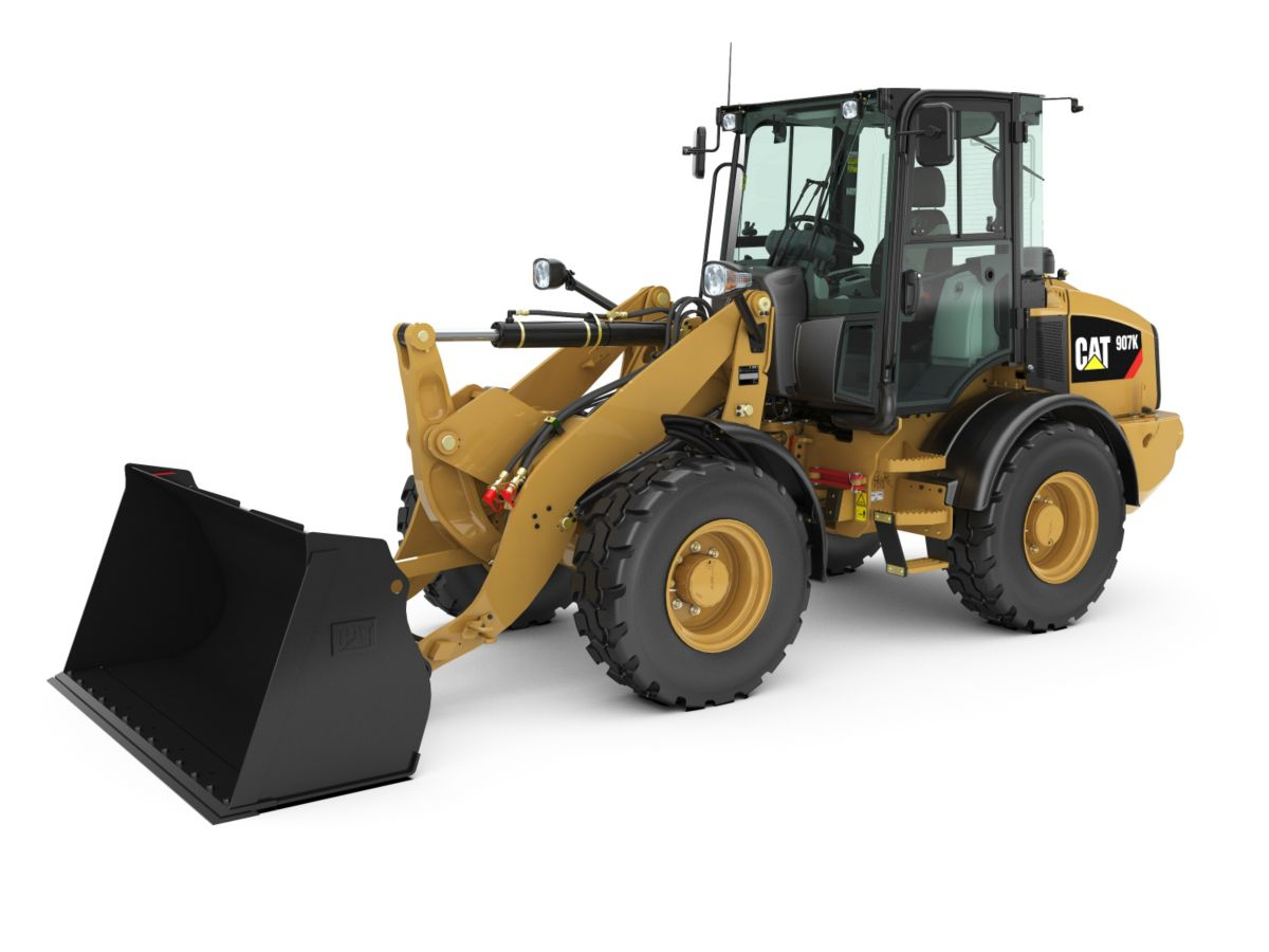 Small Compact Wheel Loaders, Small Wheel Loaders & Small Track Type Tractors