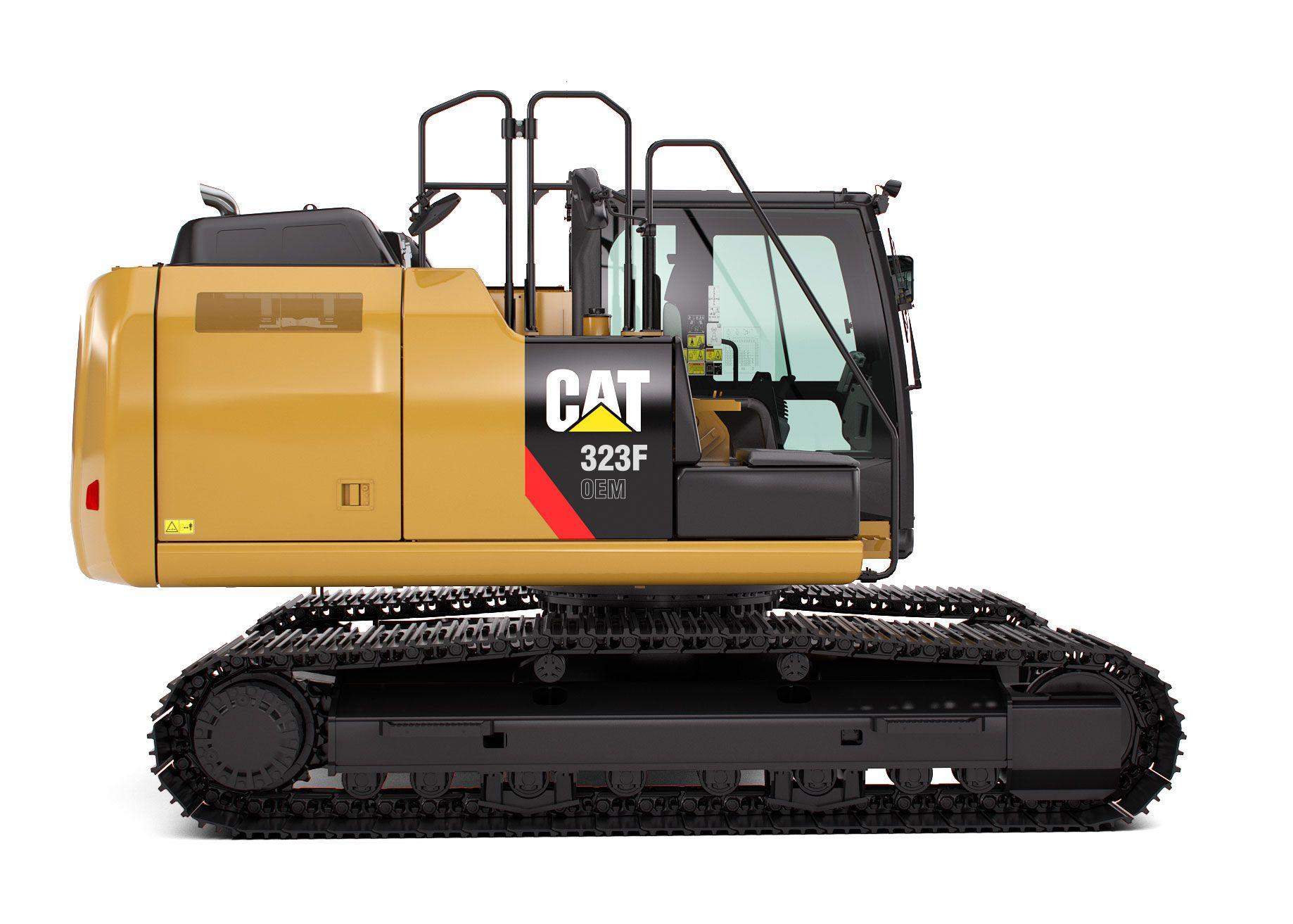 Frontless Hydraulic Excavators