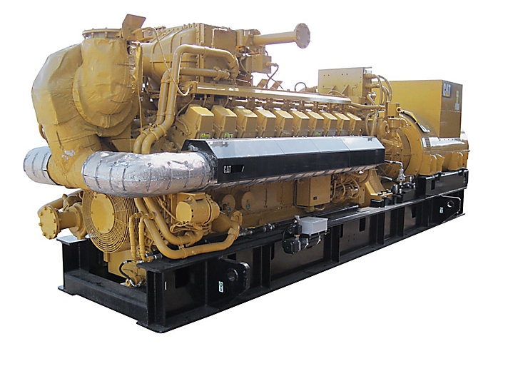 Cat G3520h Gas Generator Caterpillar
