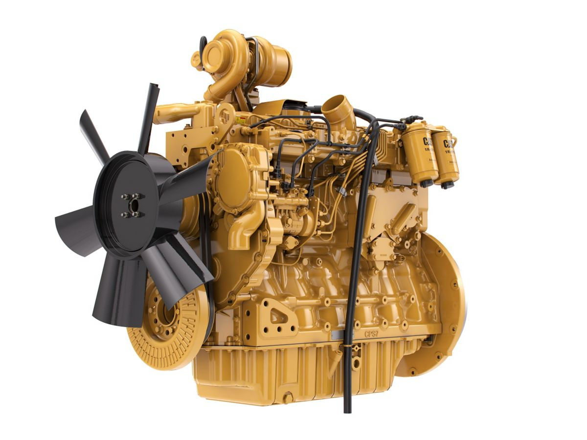 C7.1 LRC Diesel Engines - Lesser Regulated & Non-Regulated