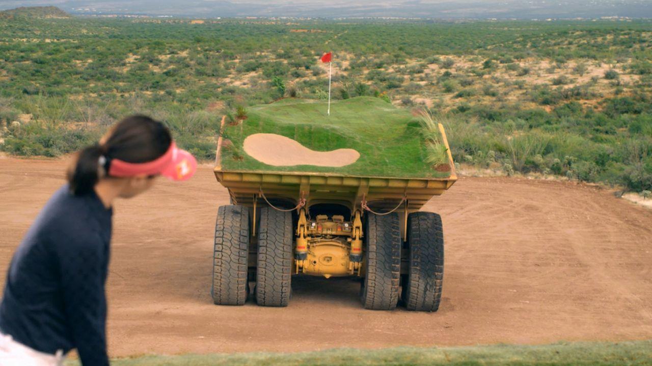 「ゴルフ練習場」
