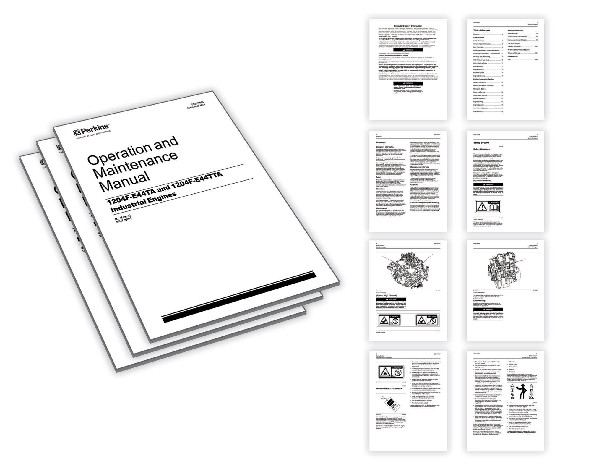操作和保养手册