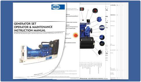 FG Wilson Operator Manual