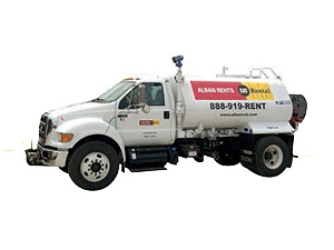 Ford F-750 Water Truck