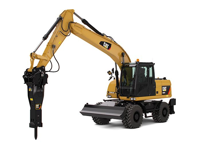 New CaterpillarWheel-Excavators