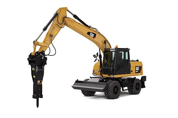 Wheel Excavator Rentals
