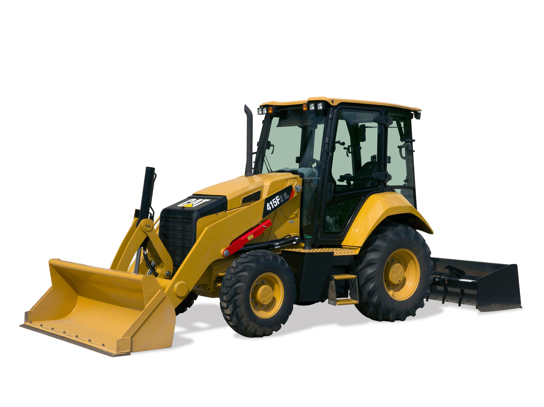 Cat | New Cat 415F2 Industrial Loader Tractor Combines