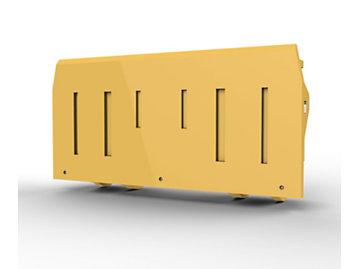Foto del Acoplamiento para manipulación de bloques para Palas de Ruedas 980 H/K/M; 3 cu?as, control mediante una 3.? válvula