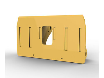 Foto del Acoplamiento para manipulación de bloques para Palas de Ruedas 980 H/K/M; 2 cu?as, control Fusion