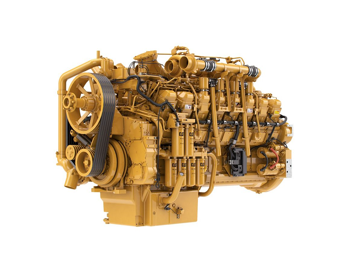 3516 LRC Diesel Engines – Lesser Regulated & Non-Regulated