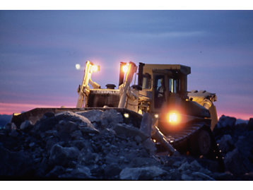 The D11 is Caterpillar's largest track-type tractor.