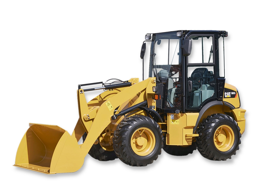 Cat Wheel Tractor : New c compact wheel loader for sale whayne cat