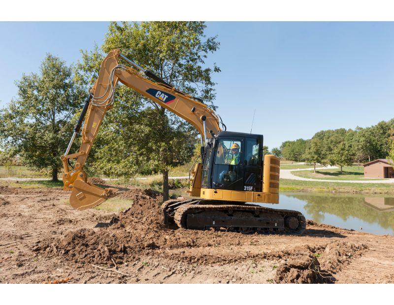 315F L Hydraulic Excavatr digging