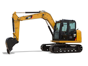 Cat Mini Excavators Caterpillar