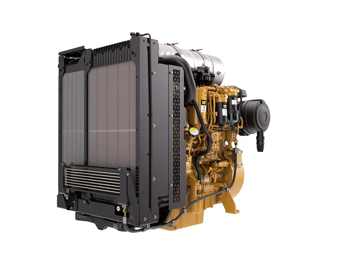 C4.4 Tier 4 Industrial Power Units – Highly Regulated