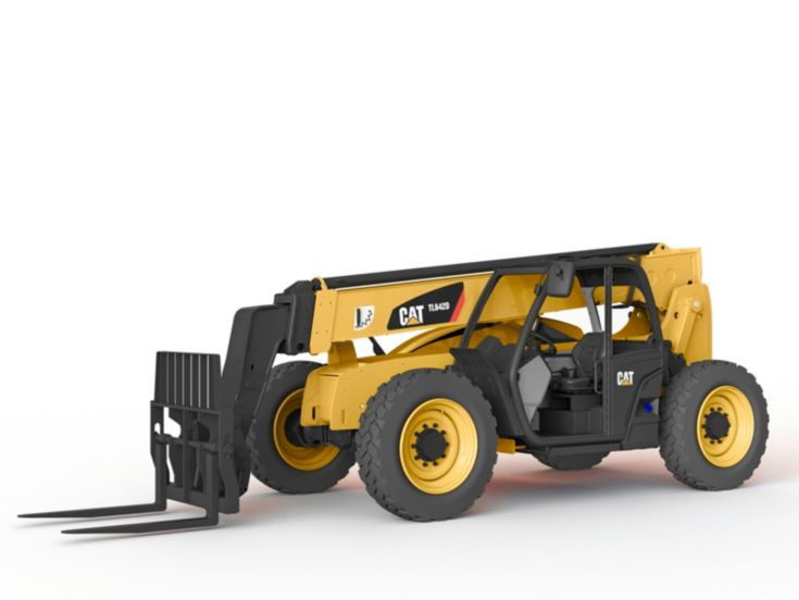 Skid Steer and Compact Track Loaders - TL642D