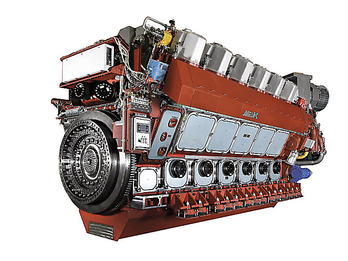 VM 46 DF Propulsion Engine