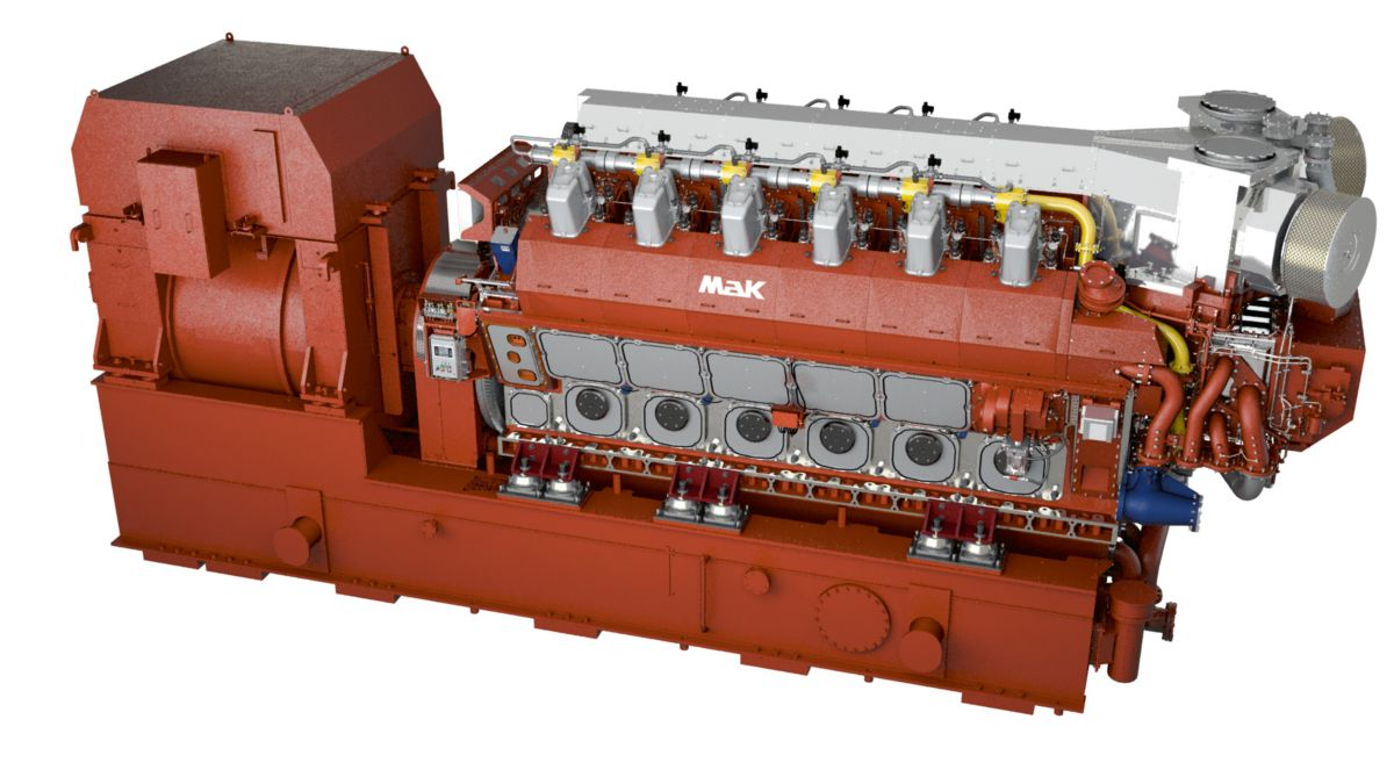 Bordstromaggregat VM 46 DF