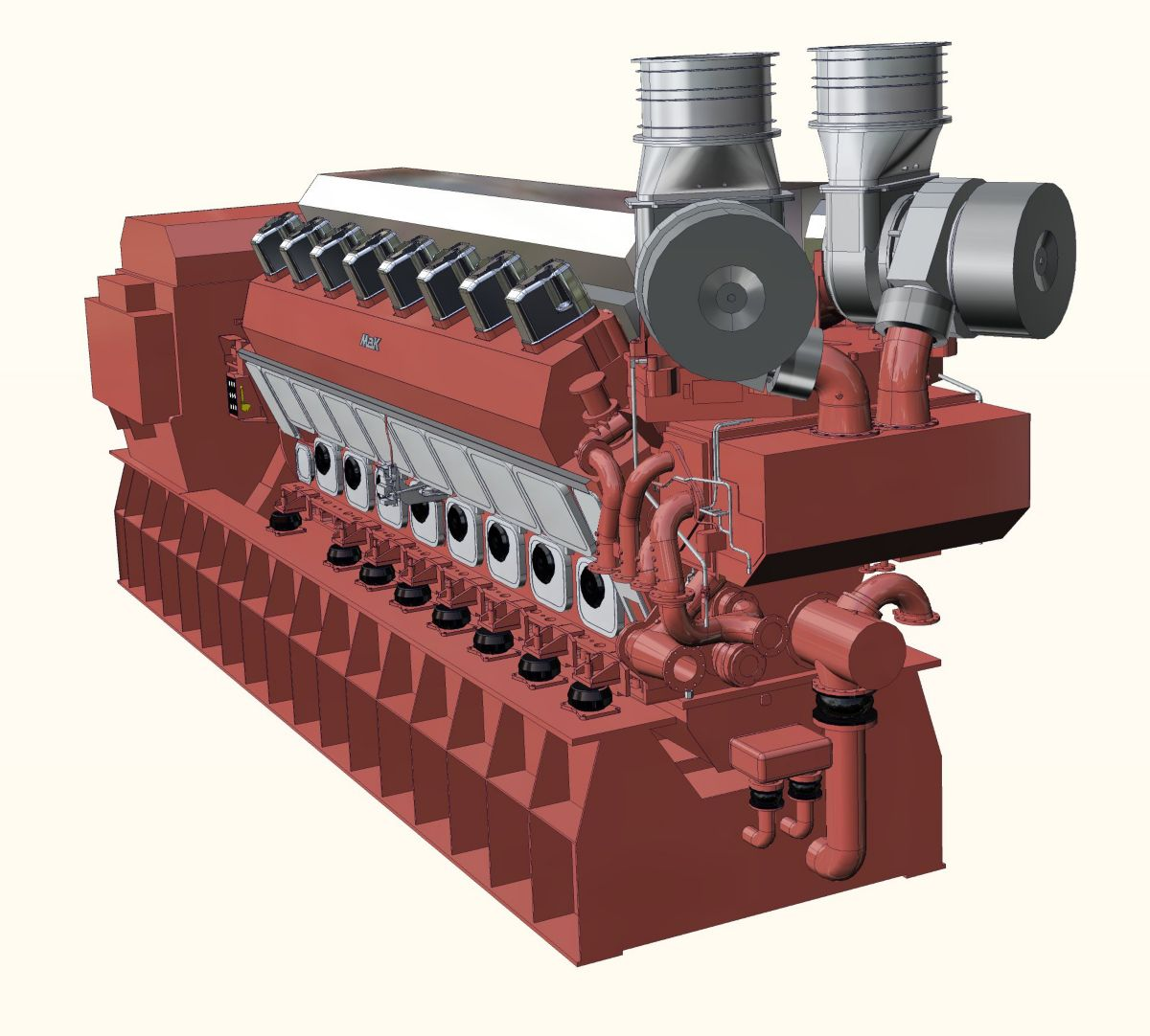 Bordstromaggregat VM43C