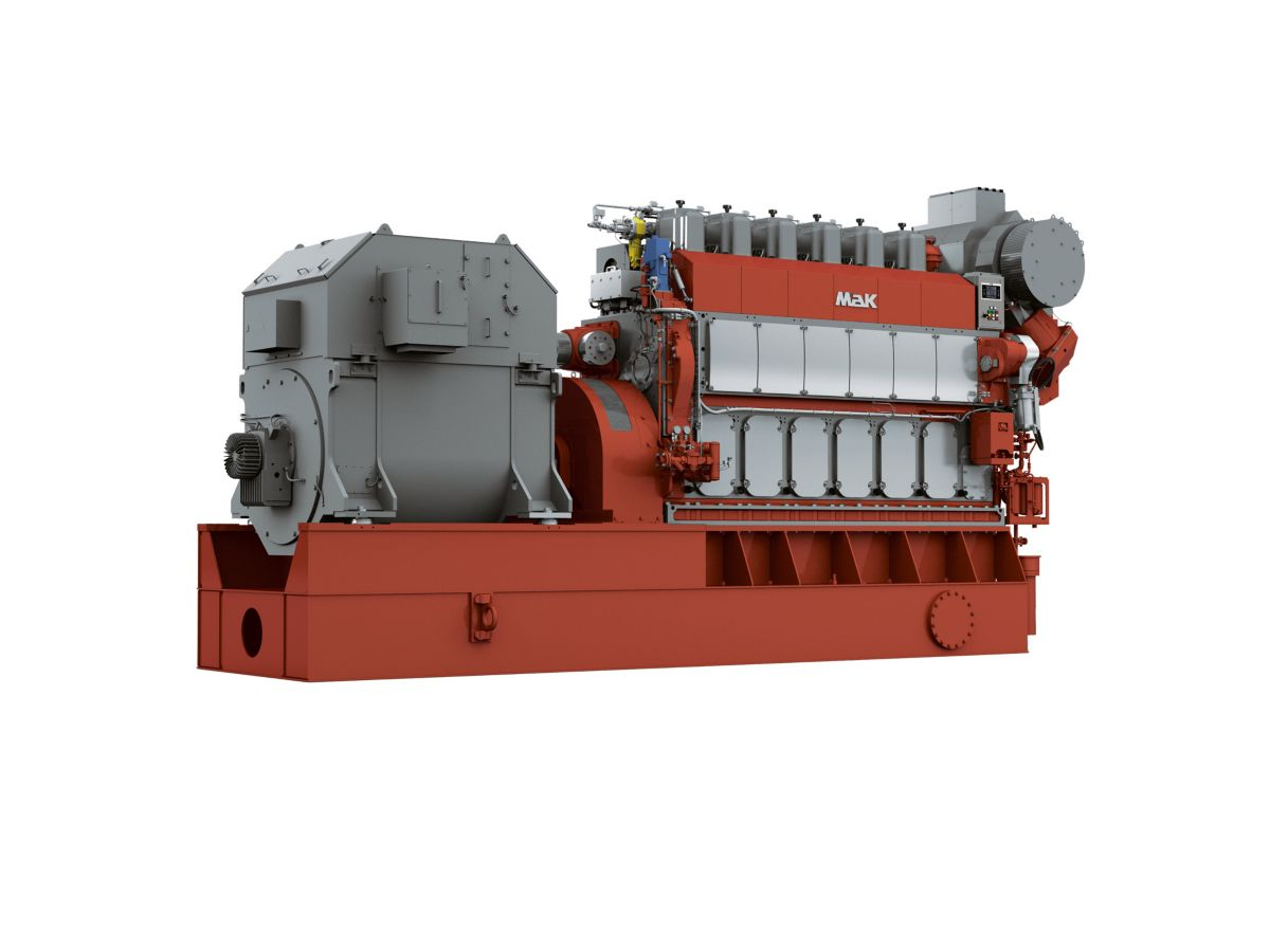 M 34 DF Generator Set