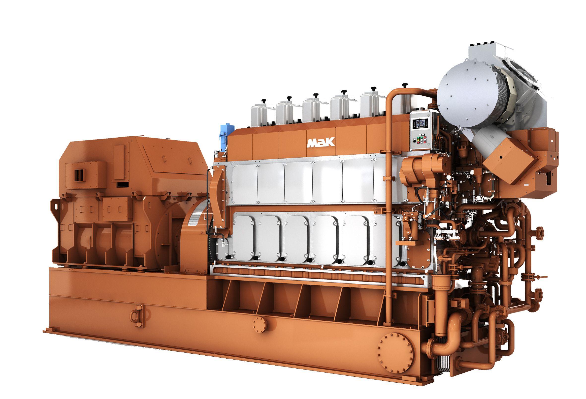 M 32 E Marine Generator Set