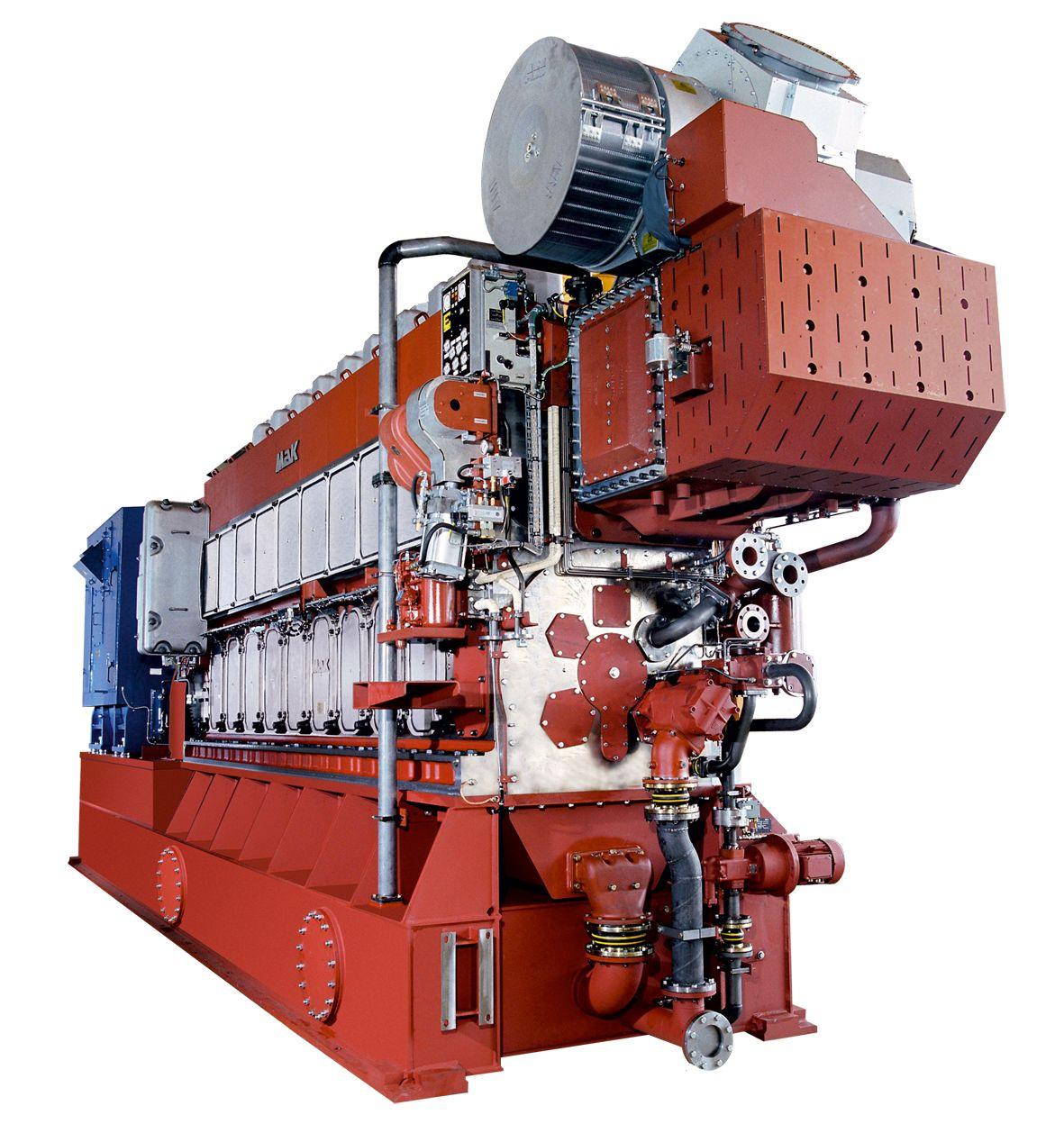 M 32 C Marine Generator Set
