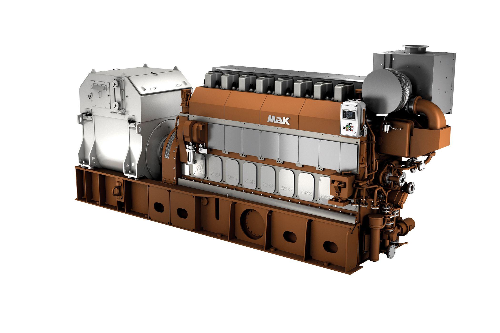 M 25 E Marine Generator Set
