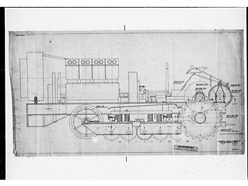 Example of a drawing as the result of direction from Ben Holt.