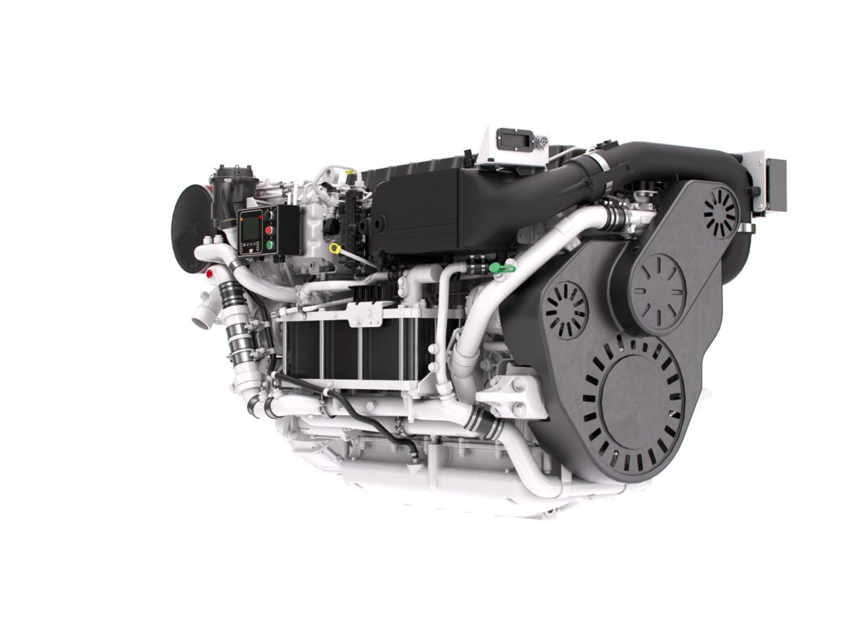 Cat C12.9 High Performance Propulsion Engine