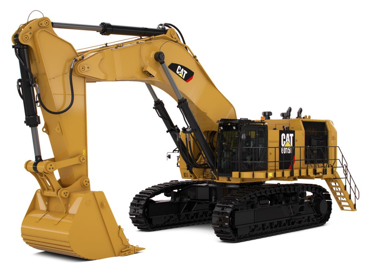 New 6015b Hydraulic Shovel For Sale Arkansas Riggs Cat