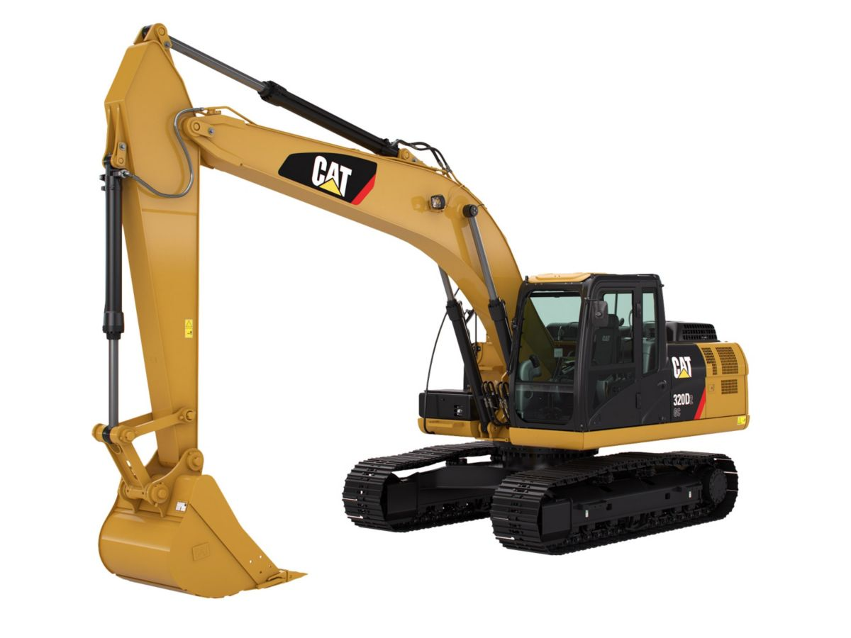 0% on new Cat Medium Hydraulic Excavators