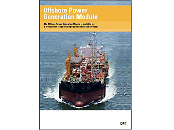 Offshore Power Generation Module Brochure