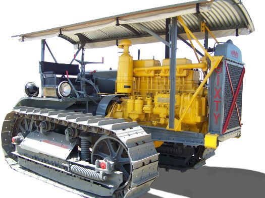 As a way to save customers money, a conversion kit was created to convert a tractor from gas to diesel.
