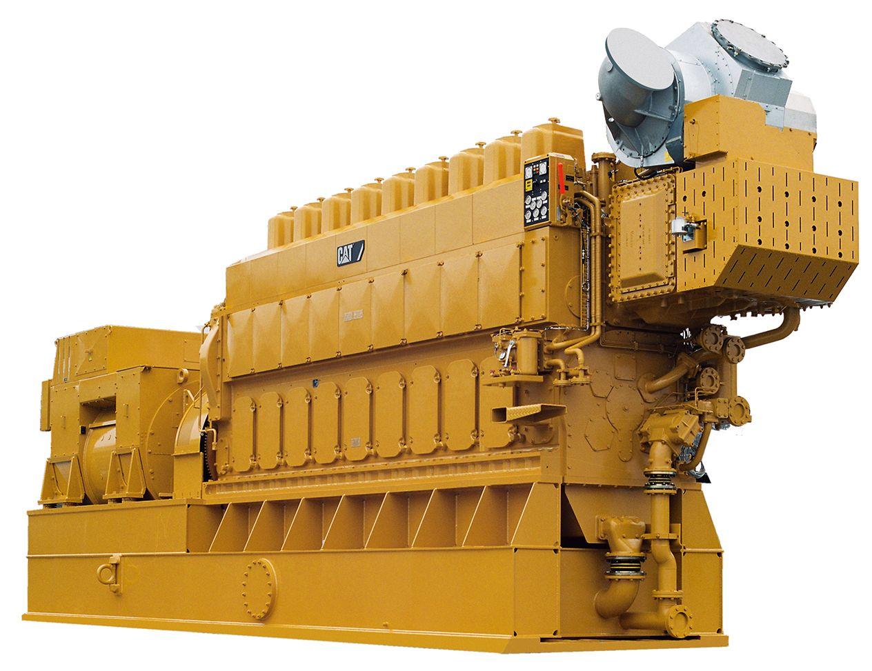 8CM34DF Generator Set