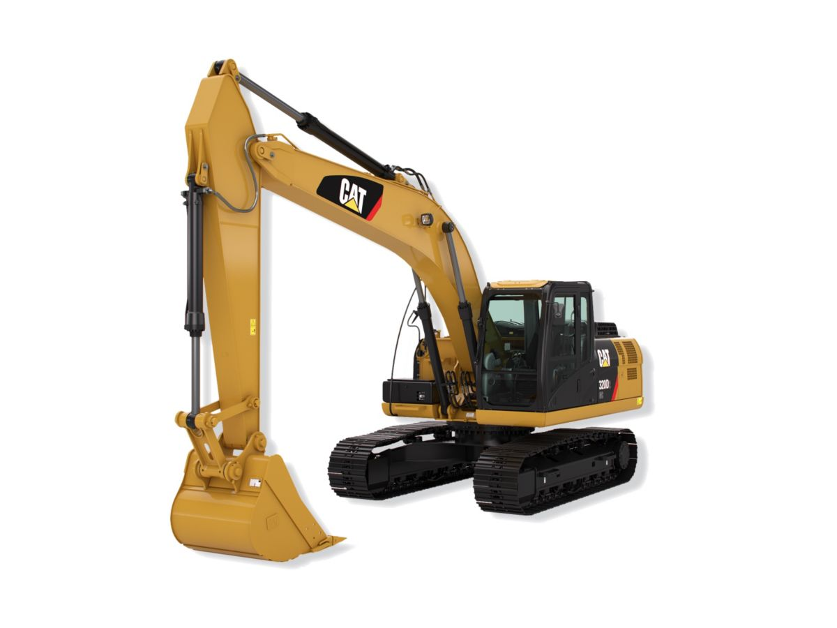 0% with low down payment on a new Cat Hydraulic Excavator