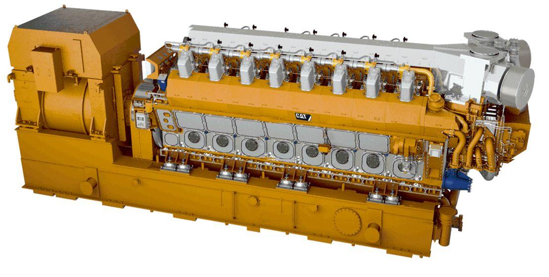 16CM46DF Generator Set