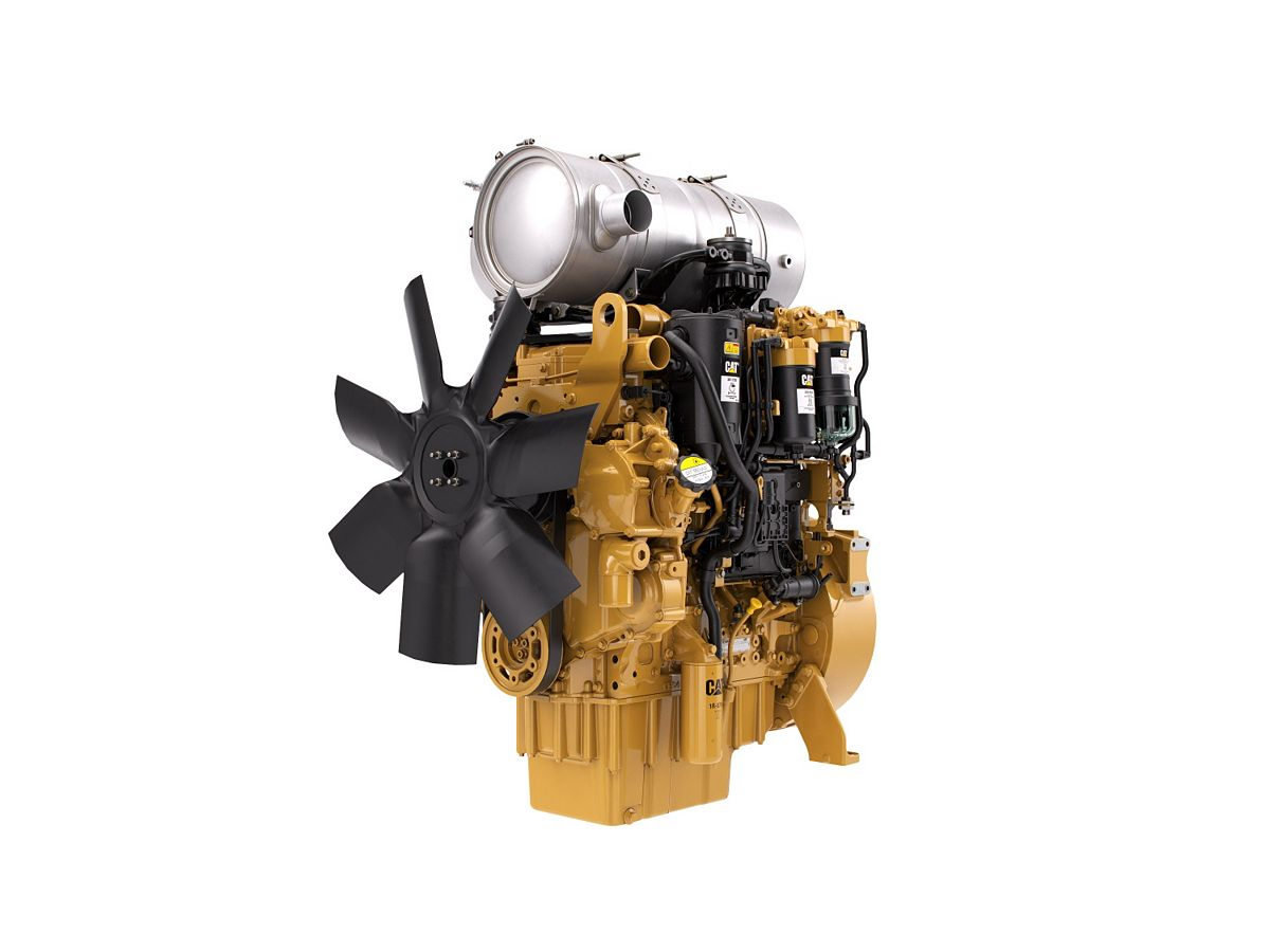 C4.4 Tier 4 Diesel Engines – Highly Regulated