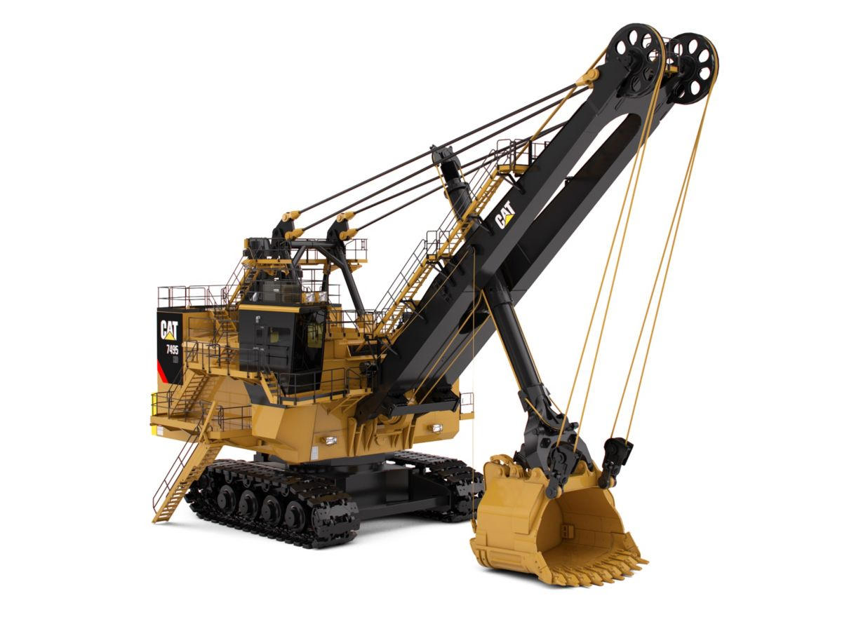 7495 HD Electric Rope Shovels